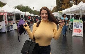 Big Boobs In Public